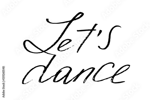 Let's dance Wallpaper Mural