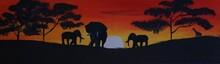 Savanne Elefanten