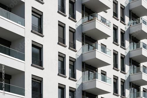 Photo building facade - real estate exterior