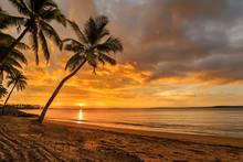 Fijian Beach Sunset