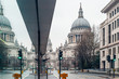 Saint Pauls cathedral in winter day