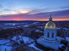 Sunrise Over New Hampshire Sta...