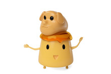 A Cute Cartoon Egg Pudding And...