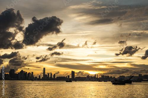 Photo  Hong Kong Cityscape