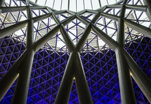 King's Cross Railway Station Roof Structure