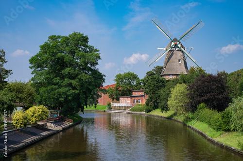 Aluminium Prints Mills Windmühle von Hinte/Deutschland