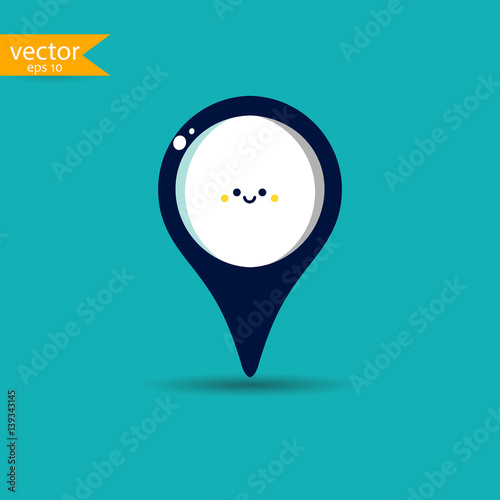 Location icon Poster
