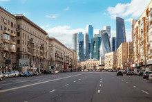 Landscape Of Moscow Architectu...