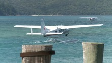 Sea Planes Crossing