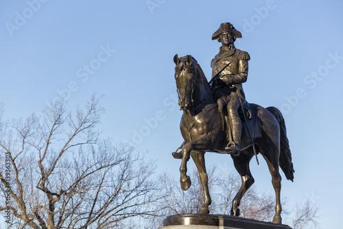 Zdjęcie XXL George Washington Statue Boston