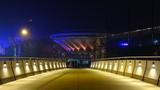 Fototapeta Miasto - Katowicki Spodek nocą