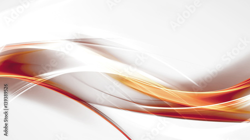 Papiers peints Abstract wave modern background