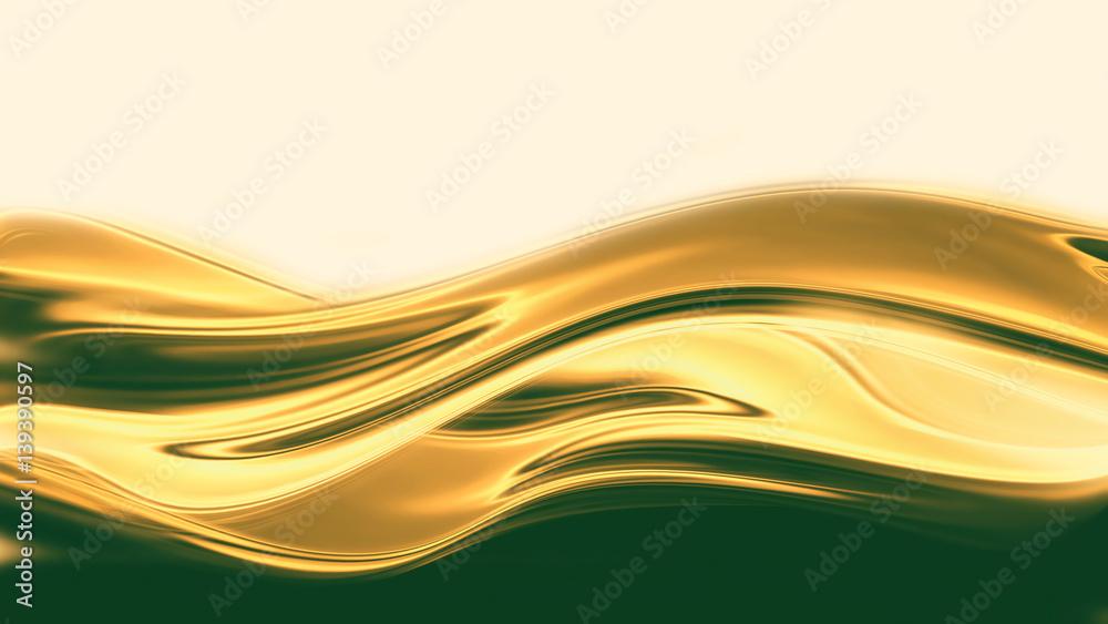 Fototapety, obrazy: liquid gold
