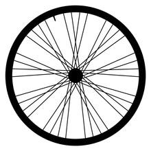 Bike Wheel - Vector Illustrati...