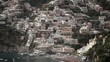 Positano city in Italy at sunny day