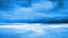 Huge Frozen Lake