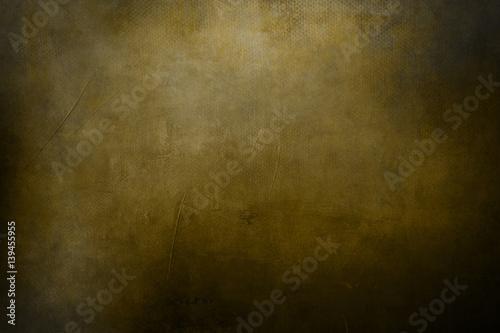 golden grungy background or texture Wallpaper Mural
