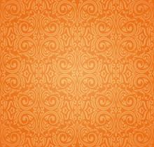 Orange Colorful Wallpaper Back...