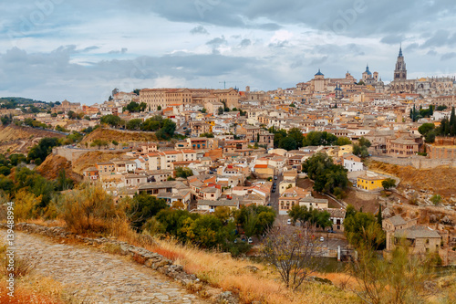 Photo Stands Europa Toledo. Aerial view of the city.