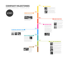 Vector Infographic Timeline Re...