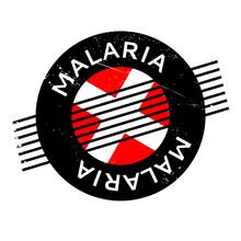 Malaria Rubber Stamp. Grunge D...