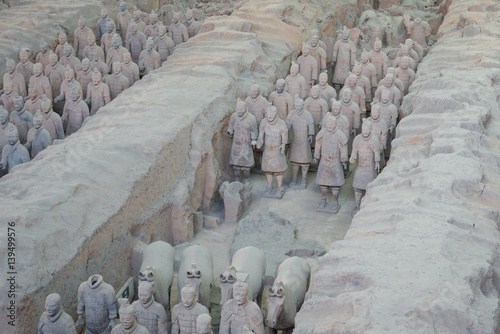 Foto op Aluminium Xian 兵馬俑