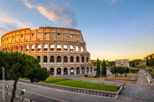 Photo Rome Colosseum (Roma Coliseum), Rome, Italy