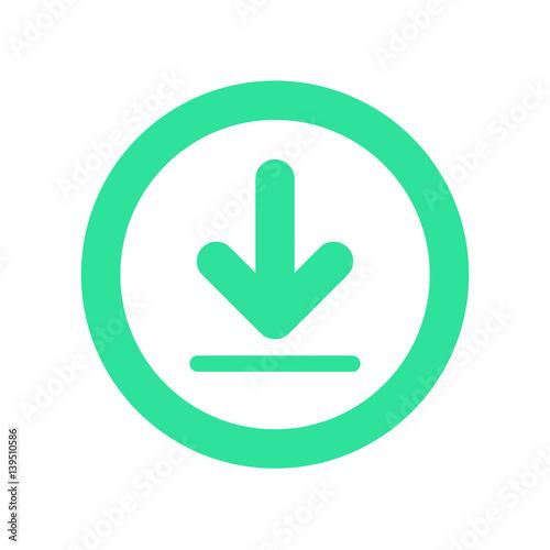 Fotografía  Download icon vector