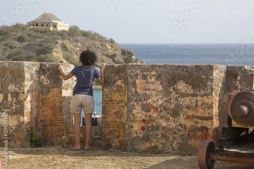 Papiers peints Fortification Fort Beekenburg (Curacao)