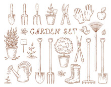 Set Of Garden Equipment