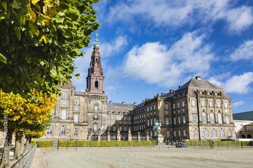 Photo  Christiansborg Palace in Copenhagen, Denmark