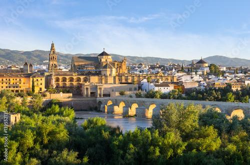 Photo  Cathedral, Mezquita and Roman bridge, Córdoba, Spain