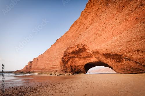 Foto op Plexiglas Koraal Legzira Beach, Sidi Ifni, Morocco
