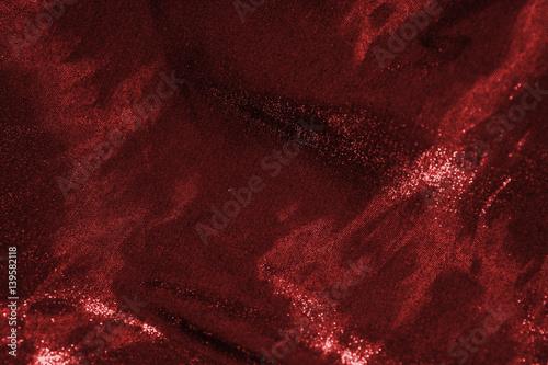 Fotomural  Ruddy shimmering fabric.