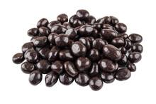 Heap Of Dragee Raisins In Powd...