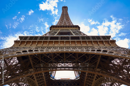 Fototapety, obrazy: Eiffel tower in Paris France