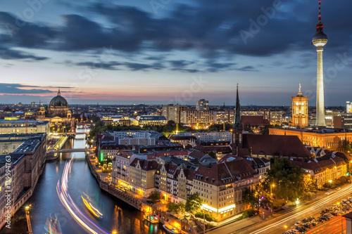 Keuken foto achterwand Berlijn Berlin bei Nacht