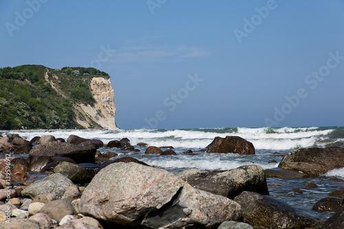 Fotografering  Blich auf die Steilküste von Rügen