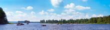 Summer Lake, Sweden.