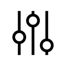 Settings Mini Line, Icon