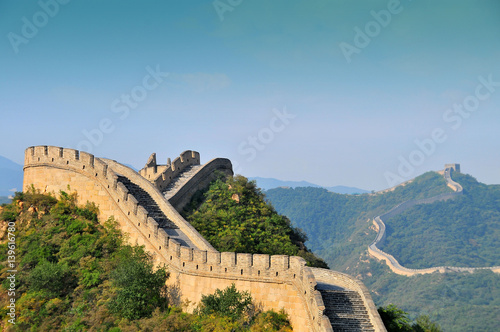 Foto op Canvas Chinese Muur CHINA Great Wall