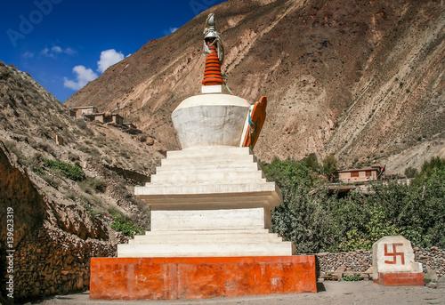 Carta da parati Small buddhist stupa