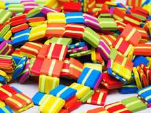 A Jacob's Ladder Toys (also Magic Tablets, Chinese Blocks, And Klick-klack Toy) Is A Folk Toy Consisting Of Blocks Of Wood Held Together By Ribbons.