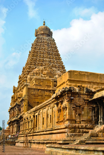 Brahadeshwara Big Temple At Thanjavur A Part Of The Great Living