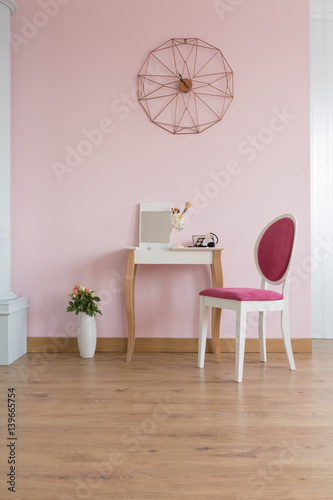 Tableau sur Toile Room with dressing table
