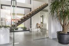 Glazed House Corridor