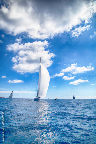 Regata in barca a vela