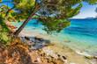 Mediterranean Sea Spain Majorca Beach of Platja de Formentor, beautiful seascape
