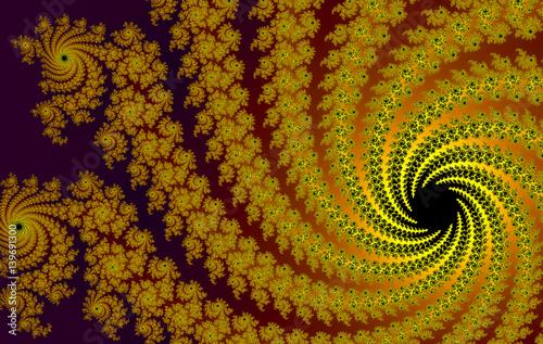abstrakcyjna-zlota-spirala-fraktale