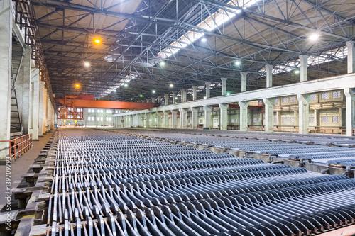 Foto op Canvas Stadion zinc electrowinning workshop